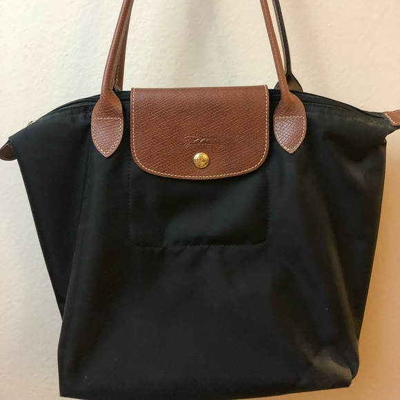 0ef8144dc97 Longchamp Handbags - Longchamp Small Le Pliage Shoulder Tote (black)